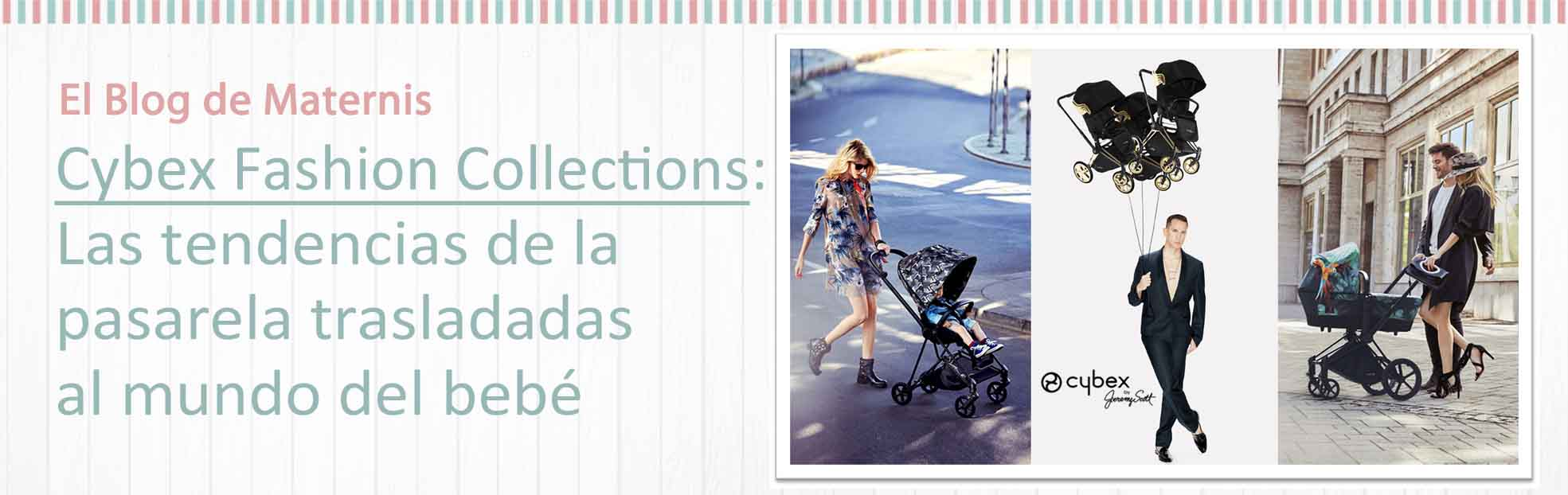 Cybex Fashion Collections Maternis bebé