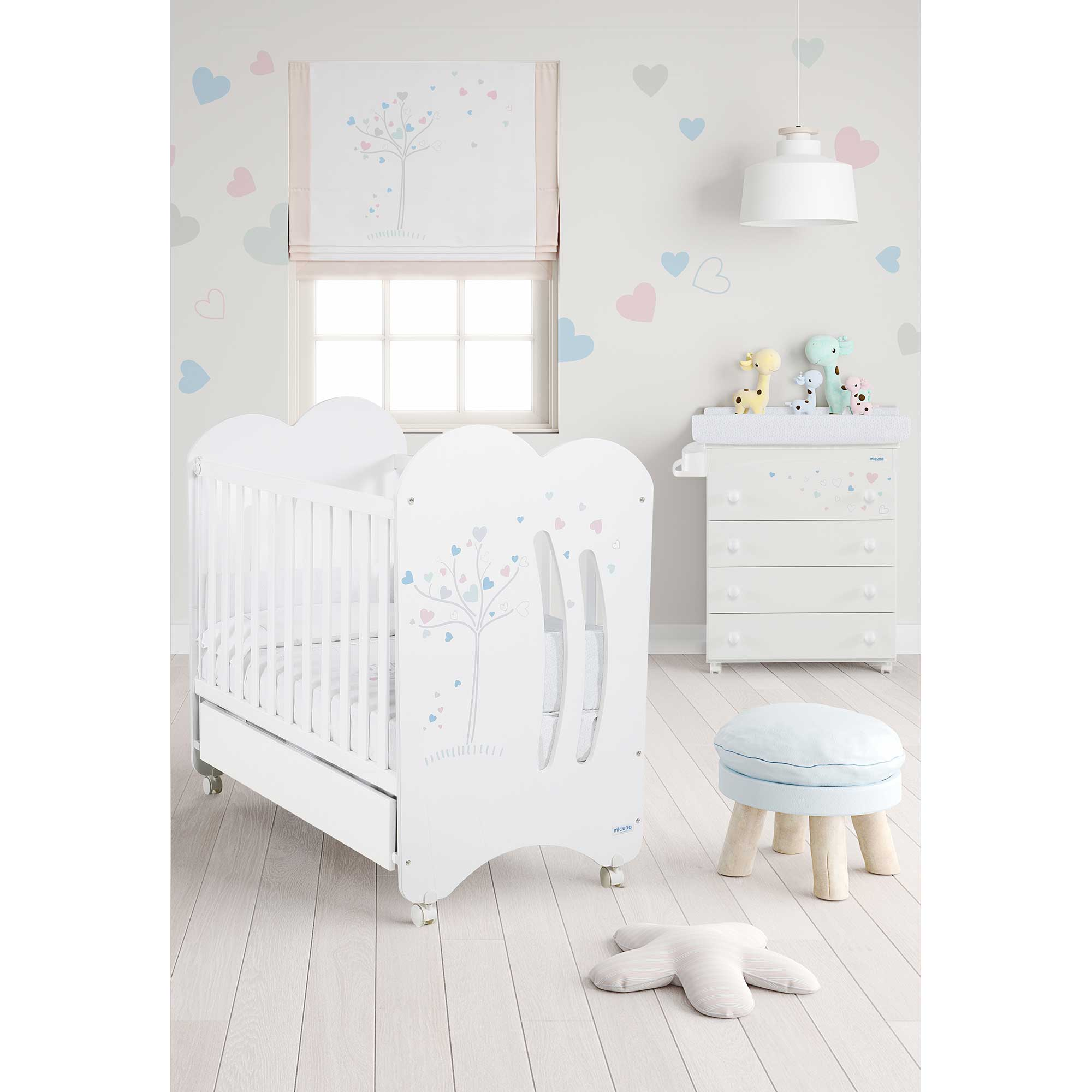 Cunas cunas convertibles y mobiliario beb maternis for Bebe 9 chambre jules