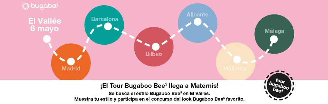 Banner Tour Bugaboo Bee5 Maternis