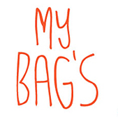 My bag's logo