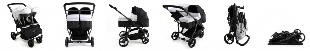 Coche Easy Twin Baby Monsters Maternis config