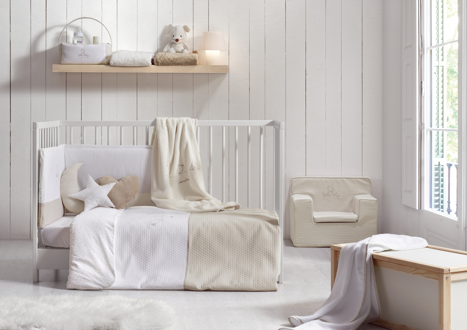 10 ideas para decorar la habitaci n del beb productos for Como decorar la habitacion de un bebe