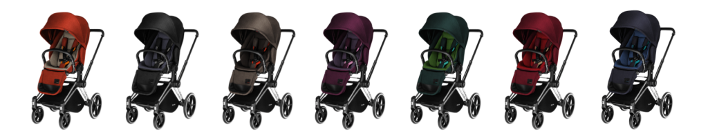 LuxSeat Priam Cybex Maternis