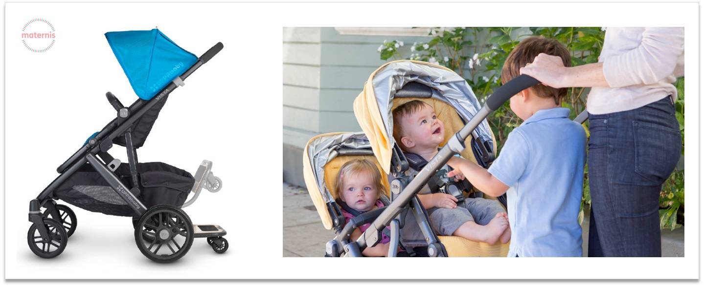 Patinete Uppababy Vista Maternis usos